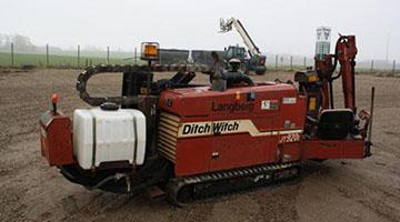 Ditch Witch 920 L elektrifikacijos paslaugos nuomojama iranga grezimui