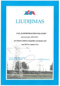 lietuvos energetikos asociacijos narys